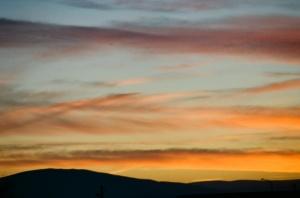 Eastern Washington Sunset
