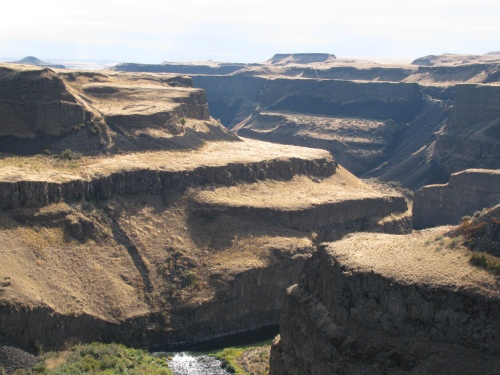 Palouse Falls Drainage October 2009
