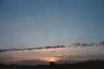 Walhalla Sunrise, North Dakota, October 2004