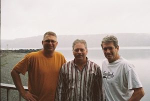 Ron Almberg, Ron Frantz, Ray Canterbury, July 2007