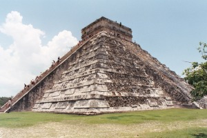 Chichen Itza, Mexico, Summer 2003
