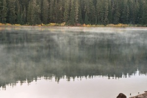 One of the Many Lakes of Indian Heaven Wilderness, Fall 2003