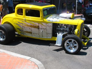 Hot Rod, Cool Desert Nights, Richland, Washington, Summer 2009