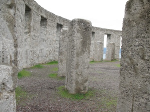 World War I Stonehenge Memorial, Washington State, Spring 2010