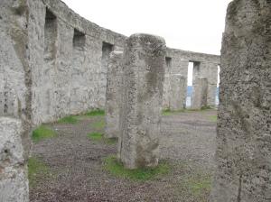 World War I Stonehenge Memorial, Washington State, Spring 2010