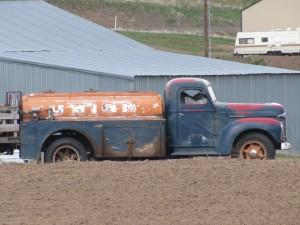 Old Fuel Truck, April 2010