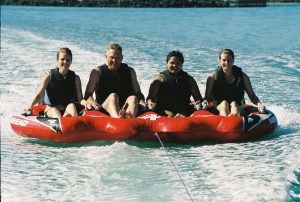 Tubing On Quilcene Bay, Washington, Summer 2007