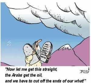 Arabs get the oil