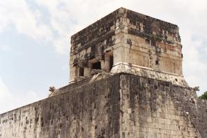 Ancient Mayan Architecture, Chichen Itza, July 2003