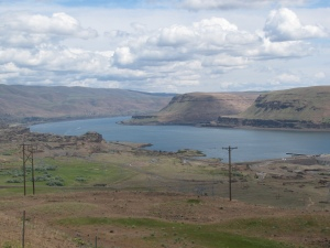 Columbia Gorge Above John Day Dam, Horse Thief Lake, Spring 2010