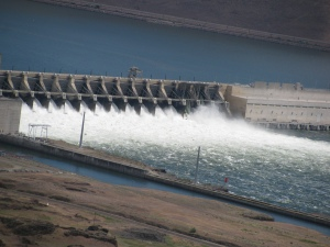 John Day Dam, Columbia River, May 2010