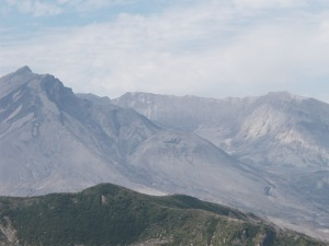 Mount Saint Helens, July 2002
