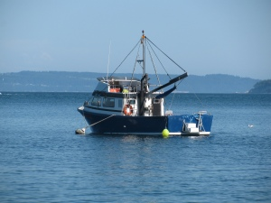 Fishing Trolley, Port Townsend Bay, Washington, 2010