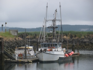 Fishing Trolley in Safe Harbor, Port Townsend, Washington, 2010