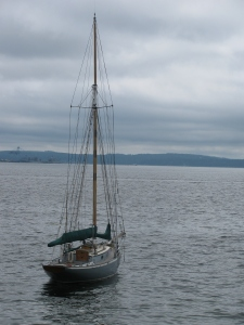 Sail Boat, Port Townsend Bay, Washington, 2010