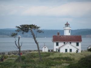 Point Wilson Light House, Fort Worden, Port Townsend, Washington, 2010