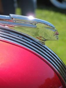 Classic Pontiac Hood Ornament, Cool Desert Nights, Richland, Washington, June 2010
