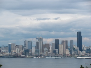 Clouds Over Seattle, Washington, June 2010