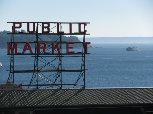 Pike Place Market, Seattle, Washington, 2010