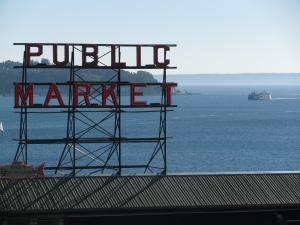 Pike Place Market, Seattle, Washington, 2010