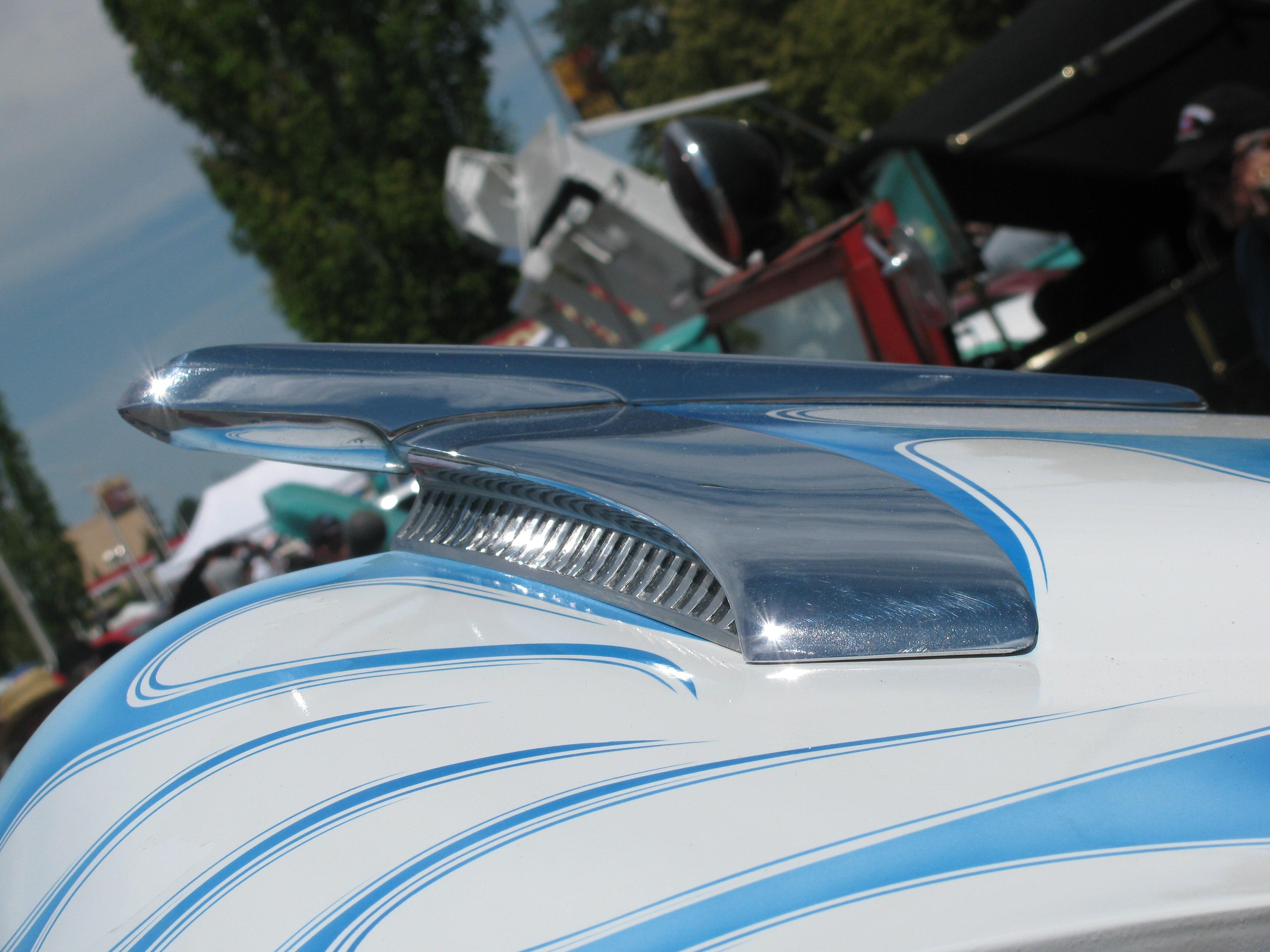 Cool hood ornaments - Classic Car Hood Ornament Cool Desert Nights Auto Show Richland Washington June