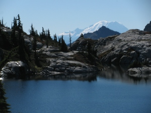 Lower Robin Lake, Mount Rainier, September 2010