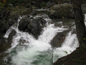Water Falls on Cle Elum River, September 2010