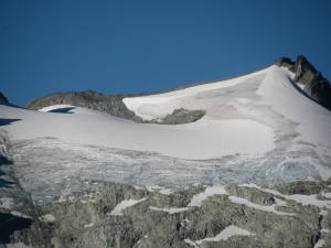 Glacier On Mt. Daniels, Washington State, September 2010