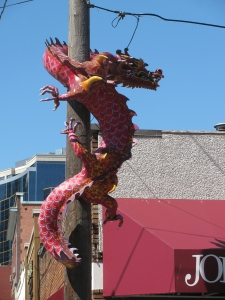 Chinese Dragon, Chinatown, Seattle, Washington