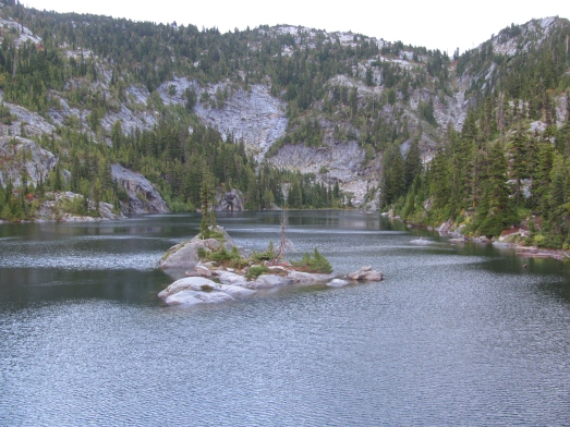 Tuck Lake, Wenatchee National Forest, Cascade Mountains, September 2010