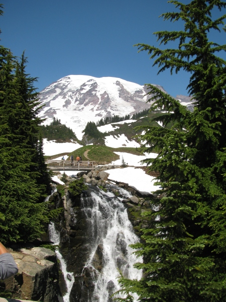 Comet Falls From Mount Rainier