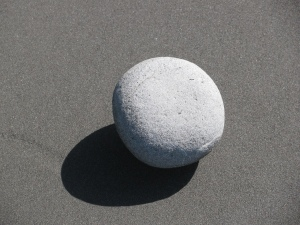 Round Beach Stone