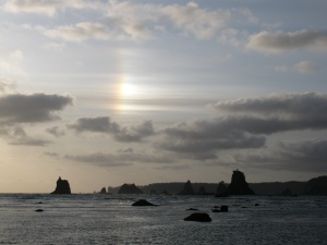 Sundog Over Graveyard of the Giants